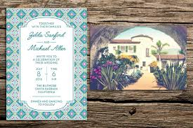 postcard wedding invitations santa barbara wedding invitation vintage postcard rsvp factory