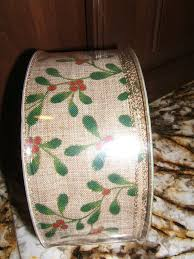 wired christmas ribbon 50 yards 150 wired christmas ribbon burlap by revivedstuff