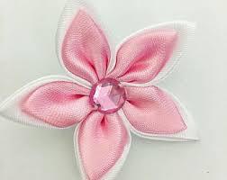 satin ribbon flowers satin ribbon flowers etsy