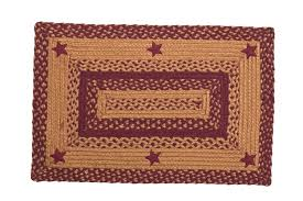 Braided Kitchen Rug Country Primitive Kitchen Rugs Cheap Country Star Rugs Wine