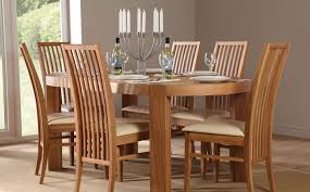 4 Chairs Furniture Design Ideas Attractive Design For Oak Dinning Table Ideas Dining Table Oak