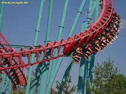 Six Flags Ma Mind Eraser The Six Flags New England In Massachusetts Theme