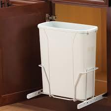 trash cans for kitchen cabinets sliding shallow cabinet wastebasket in cabinet trash cans kitchen