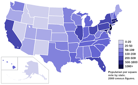 united states population map 22 maps that explain america business insider if every us state