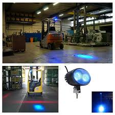 blue warning lights on forklifts xrll forklift blue spot warning light forklift blue spot warning