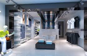 shop interior design sports clothing store interior design rendering 3d house