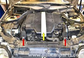 mercedes benz w203 radiator replacement 2001 2007 c230 c280