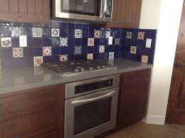 mexican tile kitchen backsplash mexican tile in a kitchen backsplash mexican home decor gallery