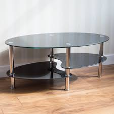 coffee tables u2013 glass oak wooden tables amazon uk