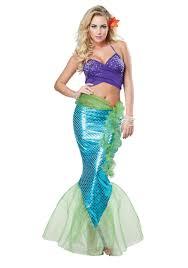 mermaid halloween costume party city women u0027s mythic mermaid costume