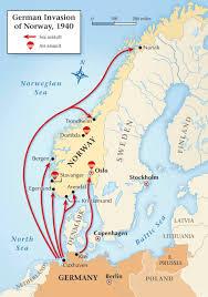 Scandinavia Map Scandinavian Twist Churchill U0027s 1940 Fiasco In Norway Historynet