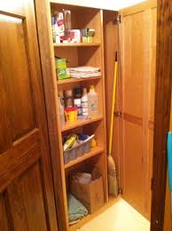 Broom Closet Cabinet Wanna See Mine South Of The Fork