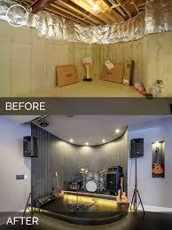 sidd u0026 nisha u0027s basement before u0026 after pictures home remodeling