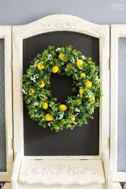 Wreath Diy 10 Diy Summer Wreath Ideas Outdoor Front Door Wreaths For Summer