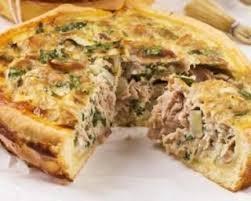 cuisiner le thon en boite tarte aux poireaux thon et moutarde weight watchers recette d une