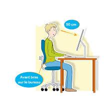position au bureau coaching en cas d assise prolongée lombalgie