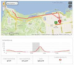 san francisco map my run route from file 2013 09 22 04 10 23 00 00 in san francisco ca