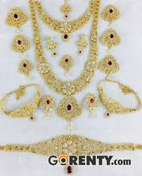 wedding jewellery for rent bridal jewellery for rent in chennai chennai gorenty post free