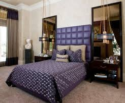 Purple Tufted Headboard by 34 Gorgeous Tufted Headboard Design Ideas