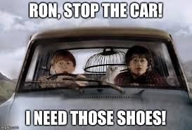 Meme Shoes For Sale - harry potter uber memes imgflip
