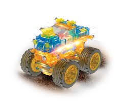 monster trucks toys laser pegs super monster truck 6 in 1 ispark toys