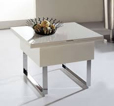 coffee table glass space saver table white space saver dining