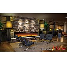 Recessed Electric Fireplace Regal Flame Gotham 72 Inch Built In Ventless Heater Recessed Wall
