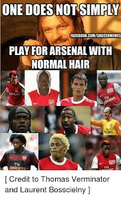 one does not simply facebookcomisoccermemes play for arsenal with