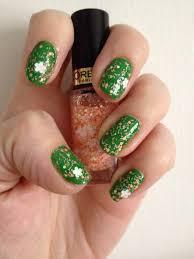 green u2013 painted nails u0026 baking scales