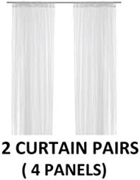 Lace Curtains Amazon Amazon Com Ikea Mesh Lace Curtains 110 Inch By 98 Inch 1 Pair