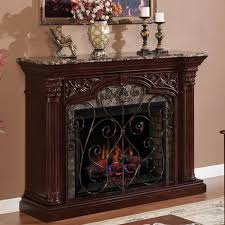 classicflame astoria 60 inch electric wall mantel fireplace with