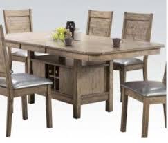 acme 72000 ramona rustic oak dining set