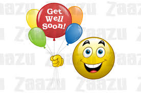 emoticon get well soon smiley zaazu