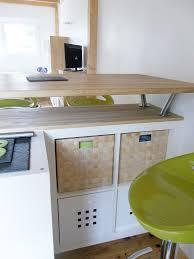 planche bar cuisine table de bar table haute avec rangement pour cuisine bahbe com
