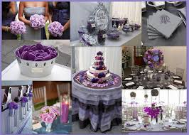 Silver Wedding Centerpieces by Purple And Silver Wedding Centerpieces Reference For Wedding