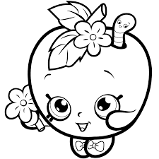 fruit apple blossom coloring page get coloring pages