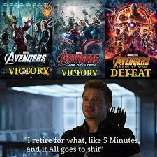 Hawkeye Meme - avengers without hawkeye baklol me