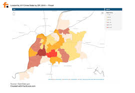 Map Of Louisville Ky 082216 Crime Stats For Louisville Ky By Zip Code 2016 U2013 Factlook