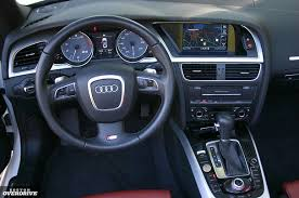 Audi S5 2013 Interior 2010 Audi S5 Cabriolet Heavy Head Turner With A Hefty Price