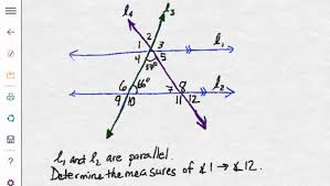 Interior And Exterior Angles Worksheet Angles Formed By Parallel Lines And Transversals Youtube
