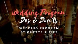 wedding program maker free wedding program templates wedding program ideas