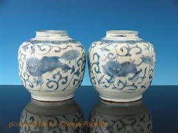 Expensive Chinese Vase Collecting Ming Period Blue And White Porcelain And Bronzes