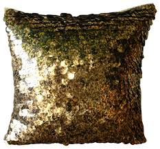 gold n black scales gold silk pillow covers modern