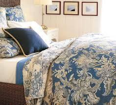 pottery barn bristol floral duvet cover and quilt manor house