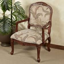 Home Decor Accent Chairs by Tropical Palm Upholstered Accent Chair