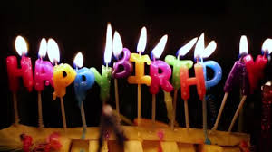 happy birthday candle happy birthday candles burn stock paha l 146875467