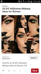Diy Halloween Makeup Ideas 16 Best Halloween Makeup Ideas Images On Pinterest Costumes