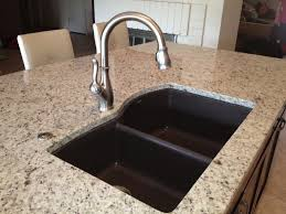 giallo ornamental light granite kitchen traditional with