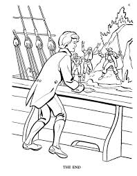 island coloring page treasure island pirate coloring pages the pirates are left