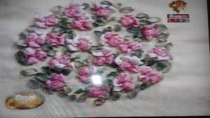 ribbon embroidery flower garden ribbon embroidery siyatha tv 2016 06 21 part 2 youtube